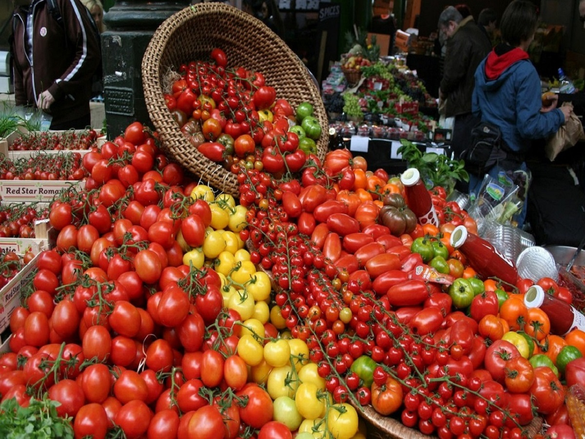 Tomatoes is just a small fraction.